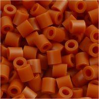 Bügelperlen, Größe 5x5 mm, Lochgröße 2,5 mm, medium, Rotbraun (32254), 1100 Stk/ 1 Pck