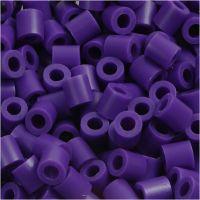 Bügelperlen, Größe 5x5 mm, Lochgröße 2,5 mm, medium, Dunkellila (32234), 6000 Stk/ 1 Pck