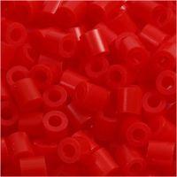Bügelperlen, Größe 5x5 mm, Lochgröße 2,5 mm, medium, Rosa (32225), 6000 Stk/ 1 Pck