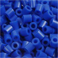 Bügelperlen, Größe 5x5 mm, Lochgröße 2,5 mm, medium, Dunkelblau (32232), 1100 Stk/ 1 Pck