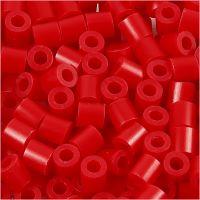 Bügelperlen, Größe 5x5 mm, Lochgröße 2,5 mm, medium, Rot (32231), 6000 Stk/ 1 Pck