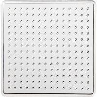 Steckbrett, Kleines Quadrat, Größe 7x7 cm, 10 Stk/ 1 Pck