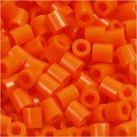 Fotoperlen, Größe 5x5 mm, Lochgröße 2,5 mm, Orange (13), 6000 Stk/ 1 Pck