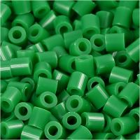 Fotoperlen, Größe 5x5 mm, Lochgröße 2,5 mm, Grün (16), 1100 Stk/ 1 Pck