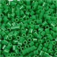 Fotoperlen, Größe 5x5 mm, Lochgröße 2,5 mm, Grün (16), 6000 Stk/ 1 Pck
