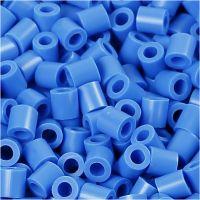 Fotoperlen, Größe 5x5 mm, Lochgröße 2,5 mm, Blau (17), 1100 Stk/ 1 Pck