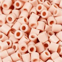 Fotoperlen, Größe 5x5 mm, Lochgröße 2,5 mm, Rosa (18), 6000 Stk/ 1 Pck