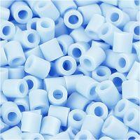 Fotoperlen, Größe 5x5 mm, Lochgröße 2,5 mm, Hellblau (28), 6000 Stk/ 1 Pck