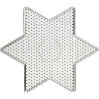 Steckbrett, Großer Stern, Größe 15x15 cm, 10 Stk/ 1 Pck