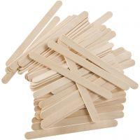 Holz-Eisstiele, L: 11,4 cm, B: 10 mm, 5000 Stk/ 1 Pck, 6400 g