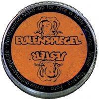 Eulenspiegel Gesichtsschminke, Perlglanz-Orange, 20 ml/ 1 Pck