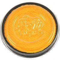 Eulenspiegel Gesichtsschminke, Gelb, 3,5 ml/ 1 Pck