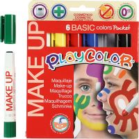Playcolor Make up, Sortierte Farben, 6x5 g/ 1 Pck