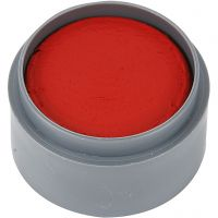 Grimas Gesichtsschminke, Rot transparent, 15 ml/ 1 Dose