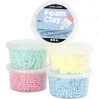 Foam Clay Extra Large, Sortierte Farben, 5x25 g/ 1 Pck