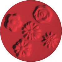 FIMO® Motiv-Formen, Blumen, D: 7 cm, 1 Stk