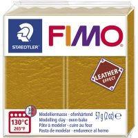 FIMO® Leder-Effekt, ocker (179), 57 g/ 1 Pck
