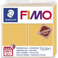 FIMO® Leder-Effekt, Safrangelb (109), 57 g/ 1 Pck