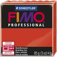 FIMO® Professional Jewellery Clay, Rot, 85 g/ 1 Pck
