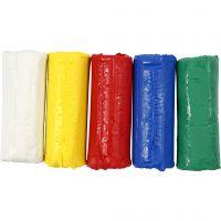 Soft Clay Knetmasse, H: 9,5 cm, Sortierte Farben, 400 g/ 1 Eimer