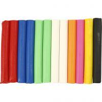 Soft Clay Knetmasse, Sortierte Farben, 200 g/ 1 Pck