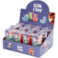 Silk Clay®, Neonfarben, Standard-Farben, 12 Set/ 1 Pck