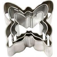Ausstechformen , Schmetterling, Größe 40x40 mm, 3 Stk/ 1 Pck