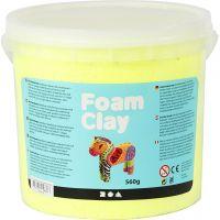 Foam Clay® , Neongelb, 560 g/ 1 Eimer