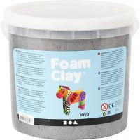 Foam Clay® , Metallic, Silber, 560 g/ 1 Eimer