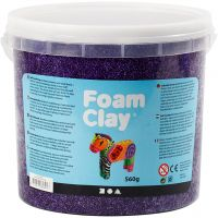 Foam Clay® , Flieder, 560 g/ 1 Eimer