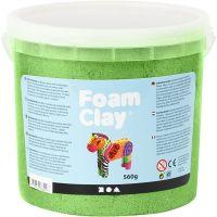 Foam Clay® , Metallic, Grün, 560 g/ 1 Eimer