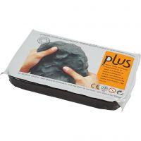 Selbsthärtender Ton, Schwarz, 12x1000 g/ 1 Pck