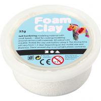 Foam Clay® , Weiß, 35 g/ 1 Dose
