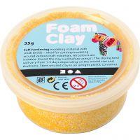 Foam Clay® , Gelb, 35 g/ 1 Dose