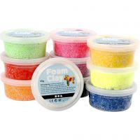 Foam Clay® , Sortierte Farben, 10x35 g/ 1 Pck