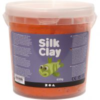 Silk Clay®, Orange, 650 g/ 1 Eimer