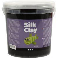 Silk Clay®, Schwarz, 650 g/ 1 Eimer