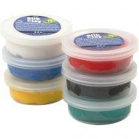 Silk Clay®, Standard-Farben, 6x14 g/ 1 Pck