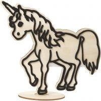 Deko-Figur, Pferd, H: 19 cm, 1 Stk