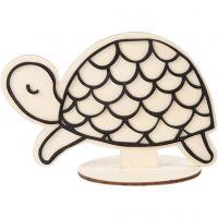 Deko-Figur, Schildkröte, H: 10 cm, 1 Stk