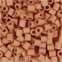 Nabbi Bio-Röhrchenperlen, Größe 5x5 mm, medium, Orange, 3000 Stk/ 1 Pck