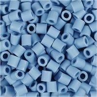 Nabbi Bio-Röhrchenperlen, Größe 5x5 mm, medium, Blau, 3000 Stk/ 1 Pck