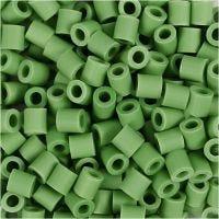 Nabbi Bio-Röhrchenperlen, Größe 5x5 mm, medium, Grün, 3000 Stk/ 1 Pck