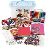 Hobbybox, Sortierte Farben, 1 Stk