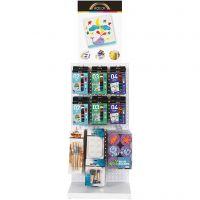 A-Color Acrylfarbe und Pinsel, Standard-Farben, 72 Teile/ 1 Pck