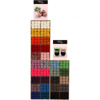 Melbourne Wolle, Sortierte Farben, 300 Teile/ 1 Pck