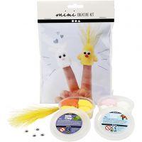 Mini-Kreativset, Fingerpuppen, 1 Set