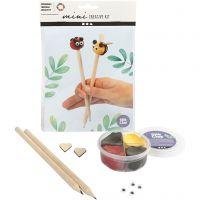 Mini-Kreativset, Bleistiftköpfchen, 1 Set