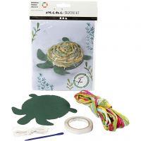 Mini-Kreativ-Set, Schildkröte, 1 Set