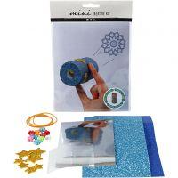 Mini-Kreativset, Kaleidoskop aus einer Papprolle, 1 Set